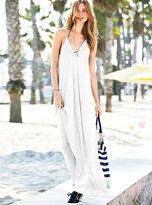 Victoria's Secret Supermodel Essentials Ribbed V-neck Maxi Dress