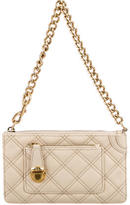 Marc Jacobs Quilted Leather Clutch