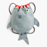 J.Crew Kids' drawstring shark bag