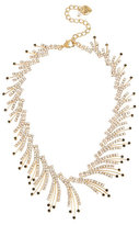 Betsey Johnson Angels And Wings Spray Frontal Necklace