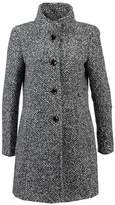 Comma Classic coat black, white