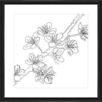 PTM Images Trace of Cherry Blossoms 18X18 Wall Art