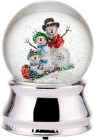 Mikasa Celebrations by Snowman Family Water Globe