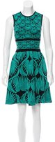 Sophie Theallet Silk Jacquard Dress w/ Tags
