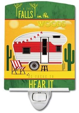Camper Caroline's Treasures Be in the Woods Retro Desert Ceramic Night Light Caroline's Treasures