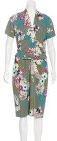 Etro Floral Printed Midi Dress