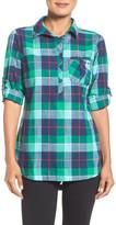 Columbia &Coral Springs& Plaid Cotton Shirt