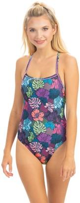 Dolfin Uglies Revibe Sao Paolo Print Tie-Back Swimsuit