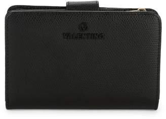 Mario Valentino Valentino By Kelly Palmellato Pebbled-Leather Snap Wallet