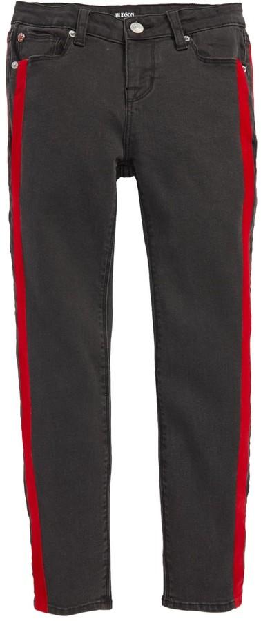 Hudson Keira Side Stripe Skinny Jeans (Big Girls)