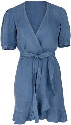 HONORINE Edie Dress - Blue Jean
