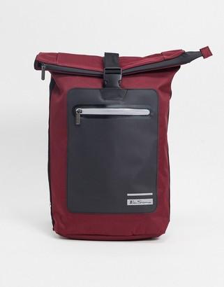 Ben Sherman rolltop backpack