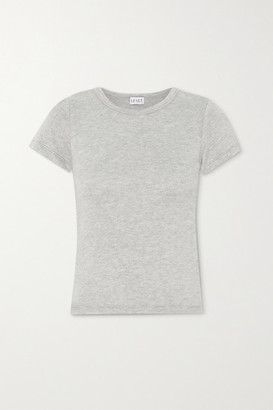 Leset Lori Brushed Stretch-knit T-shirt - Gray