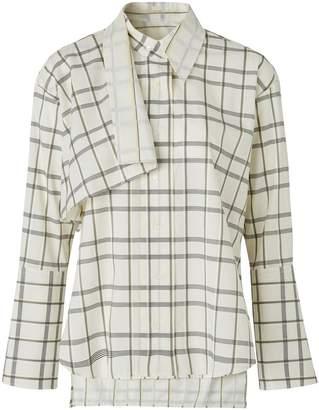 Palmer Harding Altered cotton shirt