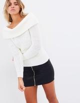 Bardot Off-Shoulder Knit