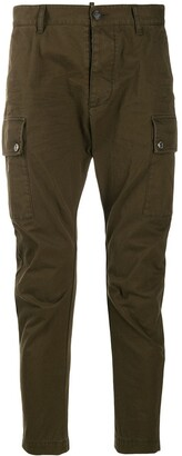 DSQUARED2 Low Rise Side Pocket Trousers