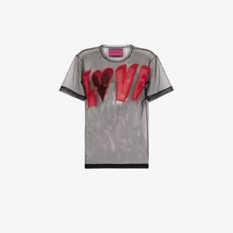 Viktor & Rolf love mesh T-shirt