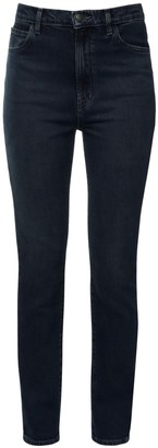 J Brand Runway 1212 High Waist Slim Denim Jeans