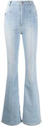 Philipp Plein Cowboy Fit flared jeans
