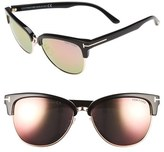 Tom Ford Women's 'Fany' 59Mm Sunglasses - Black/ Pink Lapo