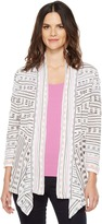 Nic+Zoe Maze Meadows Cardy Women's Sweater