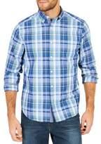 Nautica Classic-Fit Tide Plaid Cotton Button-Down Shirt