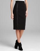 Burberry Skirt - Pencil with Black Zipper Detail