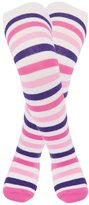 Jo-Jo JoJo Maman Bebe Patterned Tights (Baby) - Cream Stripe-6-12 Months
