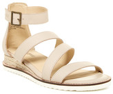 Jambu Riviera Leather Wedge Sandal