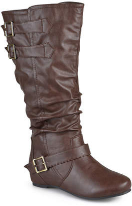 Journee Collection Womens Tiffany Extra Wide Calf Slouch Boots