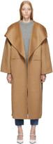 Totême Tan Annecy Wool Coat