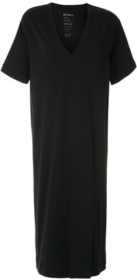 OSKLEN V-neck T-shirt dress