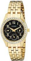 Citizen Women's ED8132-55E Analog Display Japanese Quartz Gold Watch