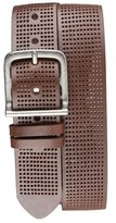 Bill Adler 1981 Perforated Leather Belt