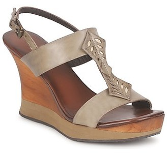 Audley VELIA SERPI women's Sandals in Brown