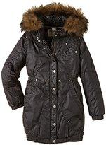 Garcia Girl's Parka Plain Long Sleeve Jacket - -