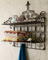 Horchow Towel Shelf