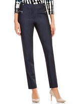 Calvin Klein Luxe Stretch Dressy Denim Suiting Pants