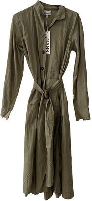 Ganni Fall Winter 2019 Khaki Polyester Trench coats