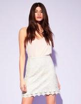 Lipsy Lace Mini Skirt