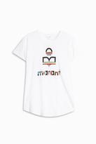 Etoile Isabel Marant Kolda Marant Logo T-Shirt