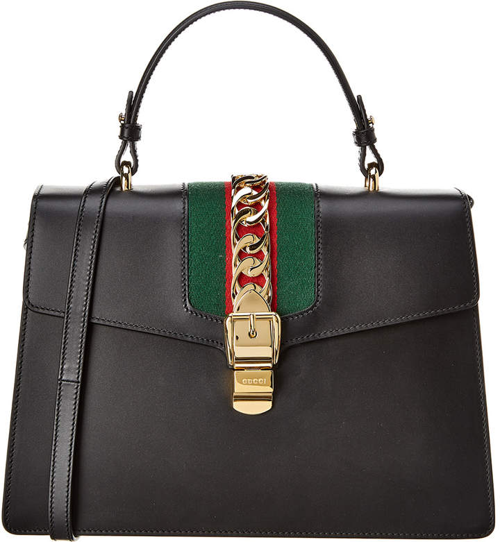 d289c6433 Sylvie Gucci Signature Bag - ShopStyle