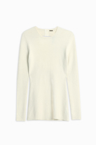 ADAM by Adam Lippes Open Back Sweater