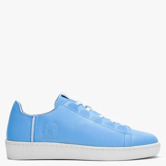 Fly London Note Sky Leather Lace Up Trainers