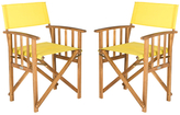 Safavieh Malibu Director Chairs (Set of 2)
