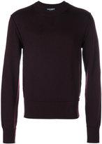 Dolce & Gabbana classic crew neck jumper - men - Virgin Wool - 50