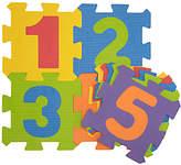 John Lewis Small Numbers Foam Baby Mat, Multi