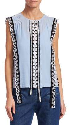 Altuzarra Alma Sleeveless Top