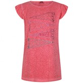 GUESS GuessPink Short Sleeve Branded Topve Branded Top