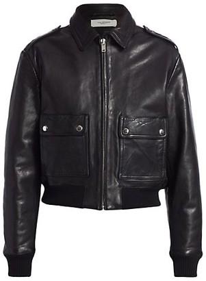 Etoile Isabel Marant Cadell Zip-Up Leather Jacket